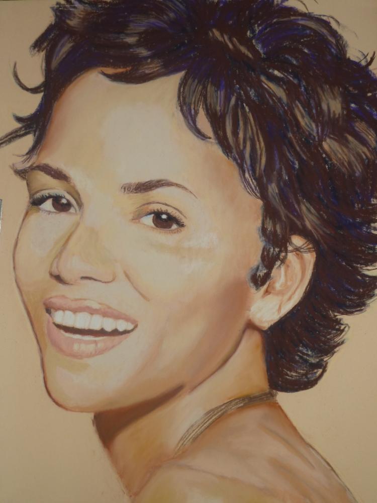 Halle Berry par Rochelle